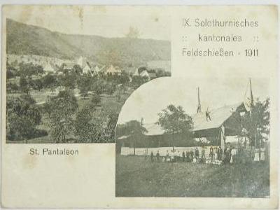 Feldschiessen in St. Pantaleon 1911
